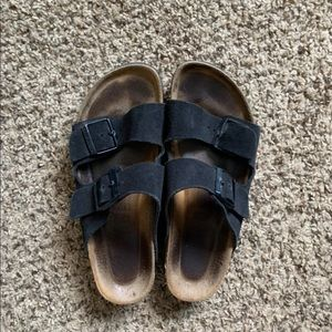 Used Birkenstock's Black